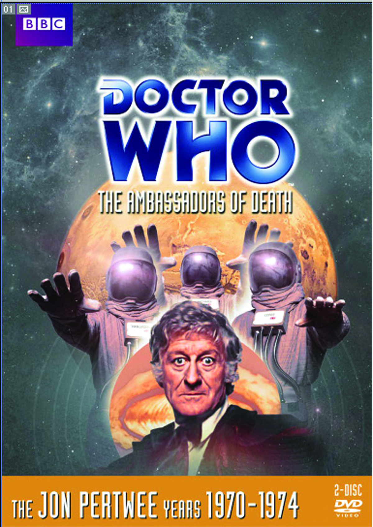 DOCTOR WHO AMBASSADORS OF DEATH DVD