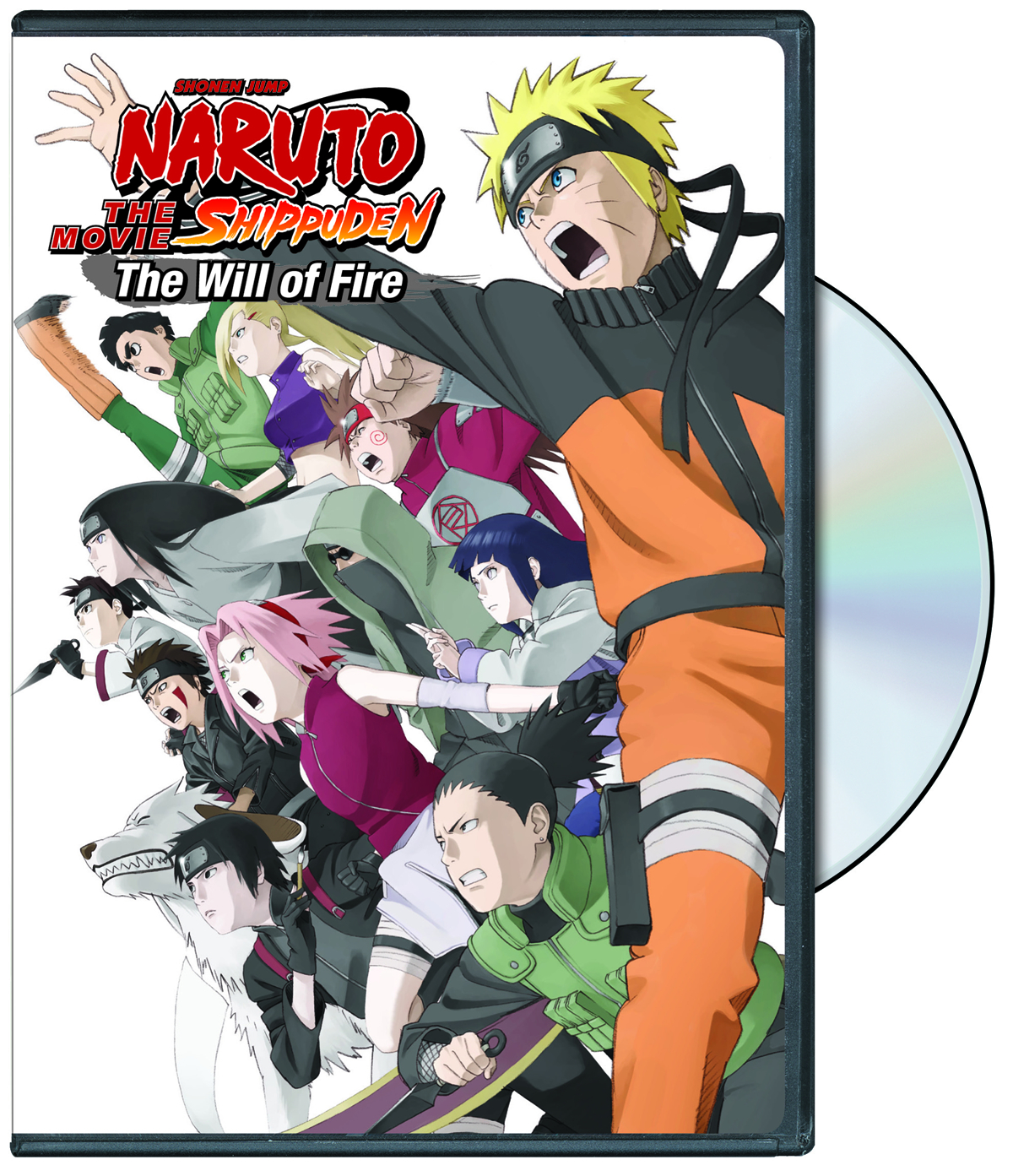 NARUTO SHIPPUDEN THE MOVIE WILL OF FIRE BD