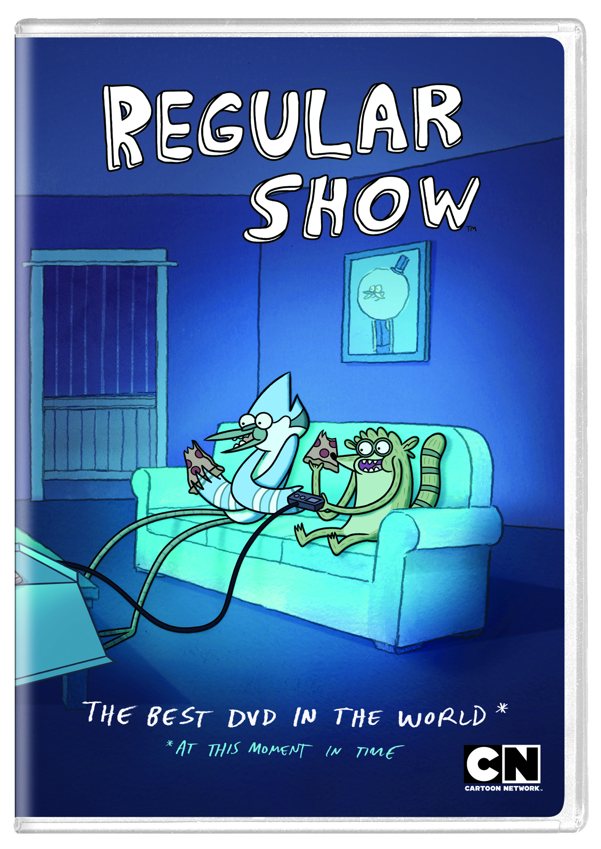 REGULAR SHOW DVD THE BEST DVD IN THE WORLD