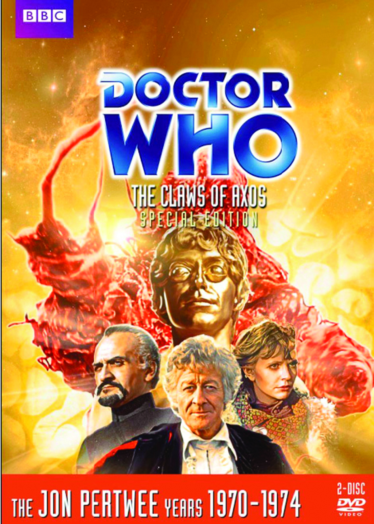 DOCTOR WHO CLAWS OF AXOS DVD