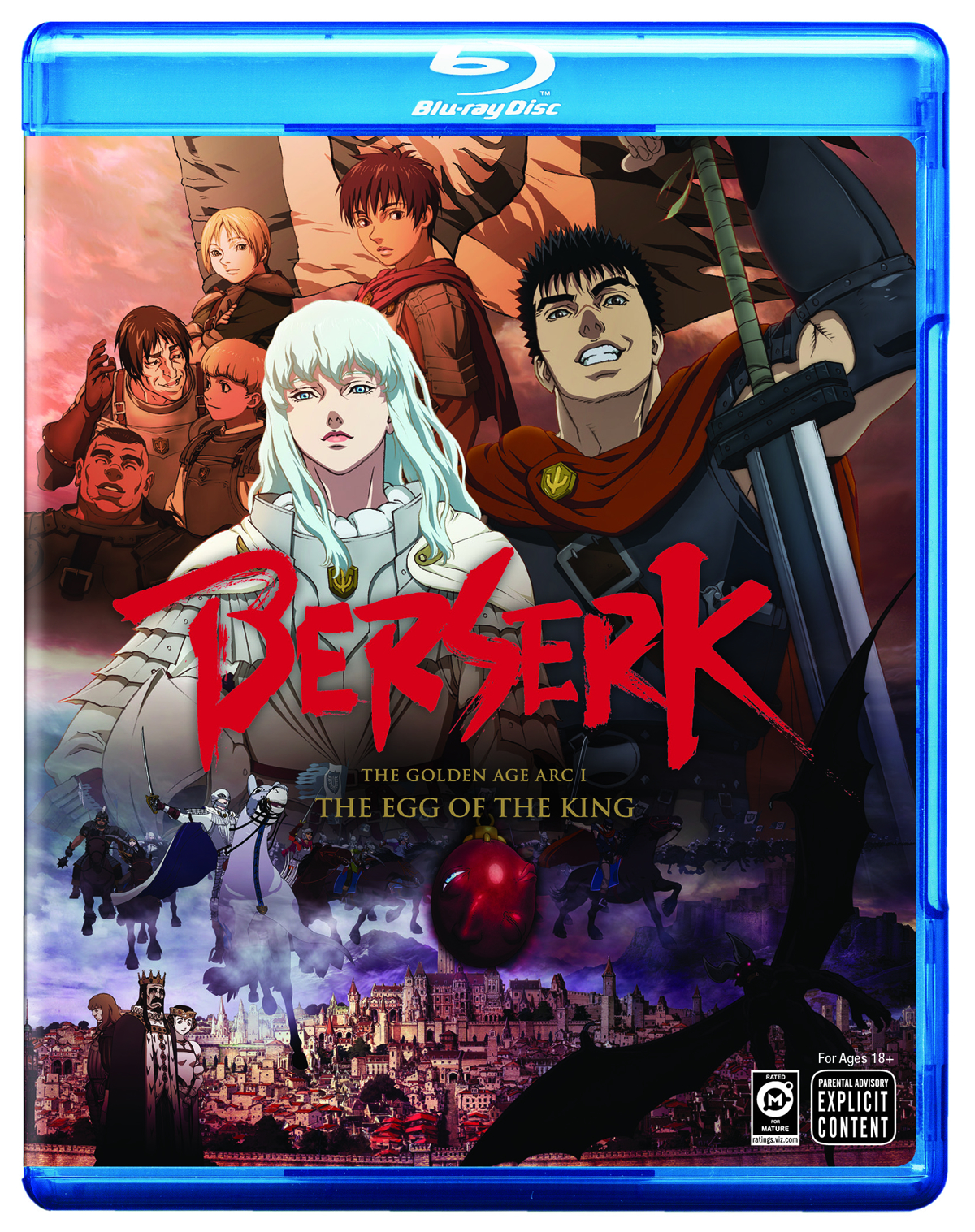BERSERK THE GOLDEN AGE BD ARC I