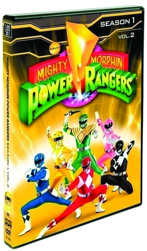MIGHTY MORPHIN POWER RANGERS DVD SEA 01 VOL 2