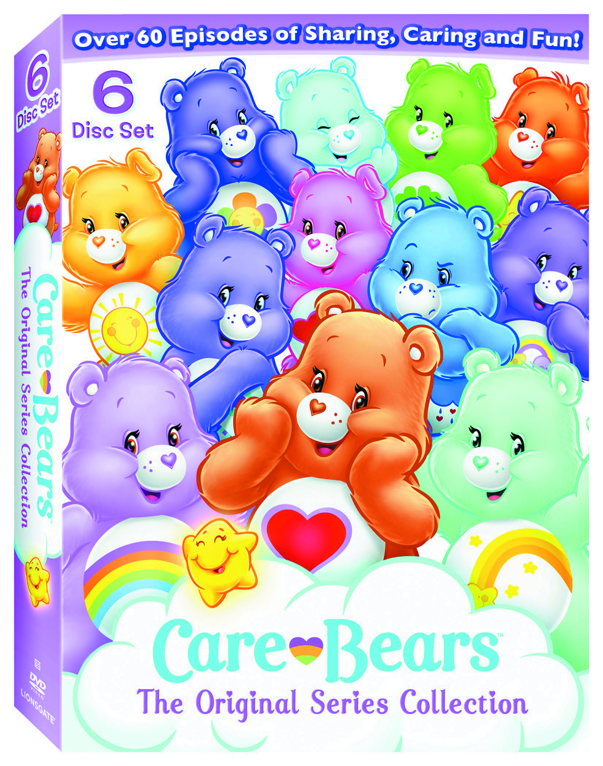 CARE BEARS ORIGINAL SER COLL DVD