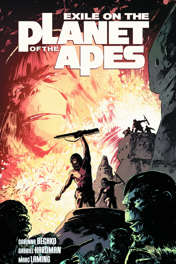 EXILE ON PLANET O/T APES TP VOL 01