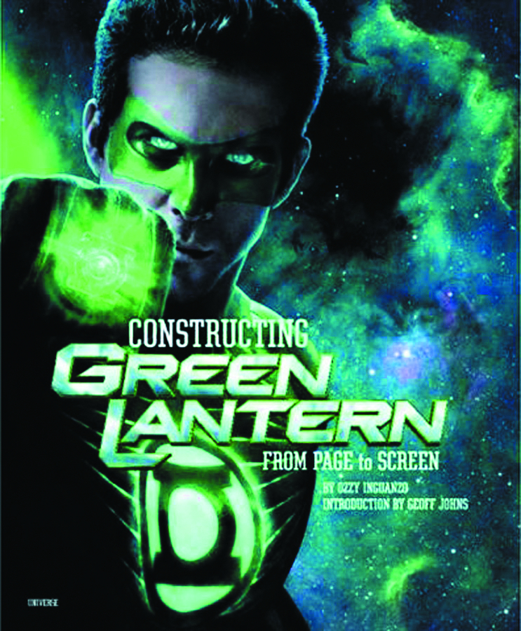 CONSTRUCTING GREEN LANTERN FROM PAGE TO SCREEN HC SALE ED