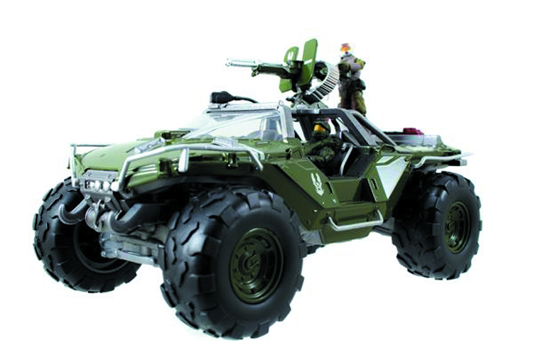 HALO 4 DIE-CAST WARTHOG W/2-IN FIGURES