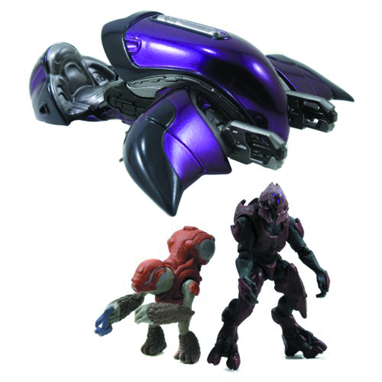HALO 4 DIE-CAST GHOST W/2-IN FIGURES