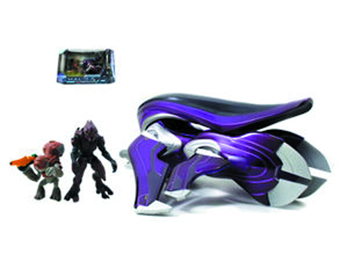 HALO 4 DIE-CAST BANSHEE W/2-IN FIGURES