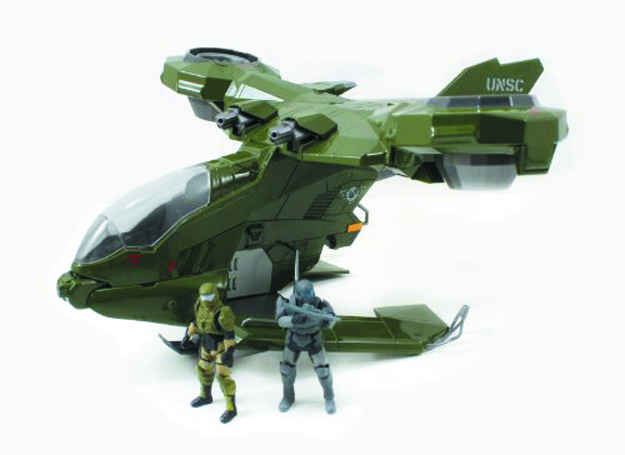 HALO 4 DIE-CAST HORNET W/2-IN FIGURES