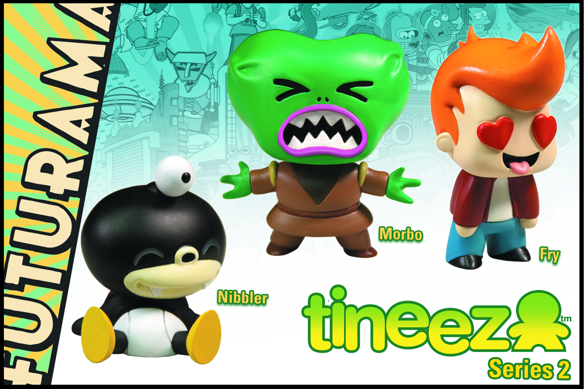 FUTURAMA TINEEZ 3-PC SET 2