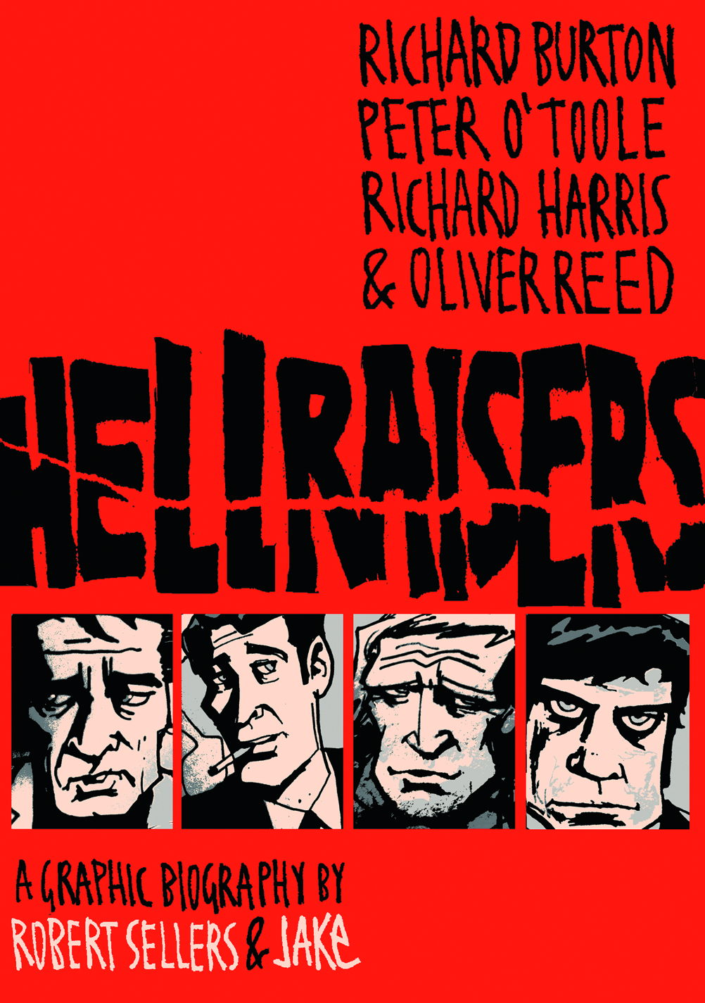 HELLRAISERS GRAPHIC BIOGRAPHIES GN