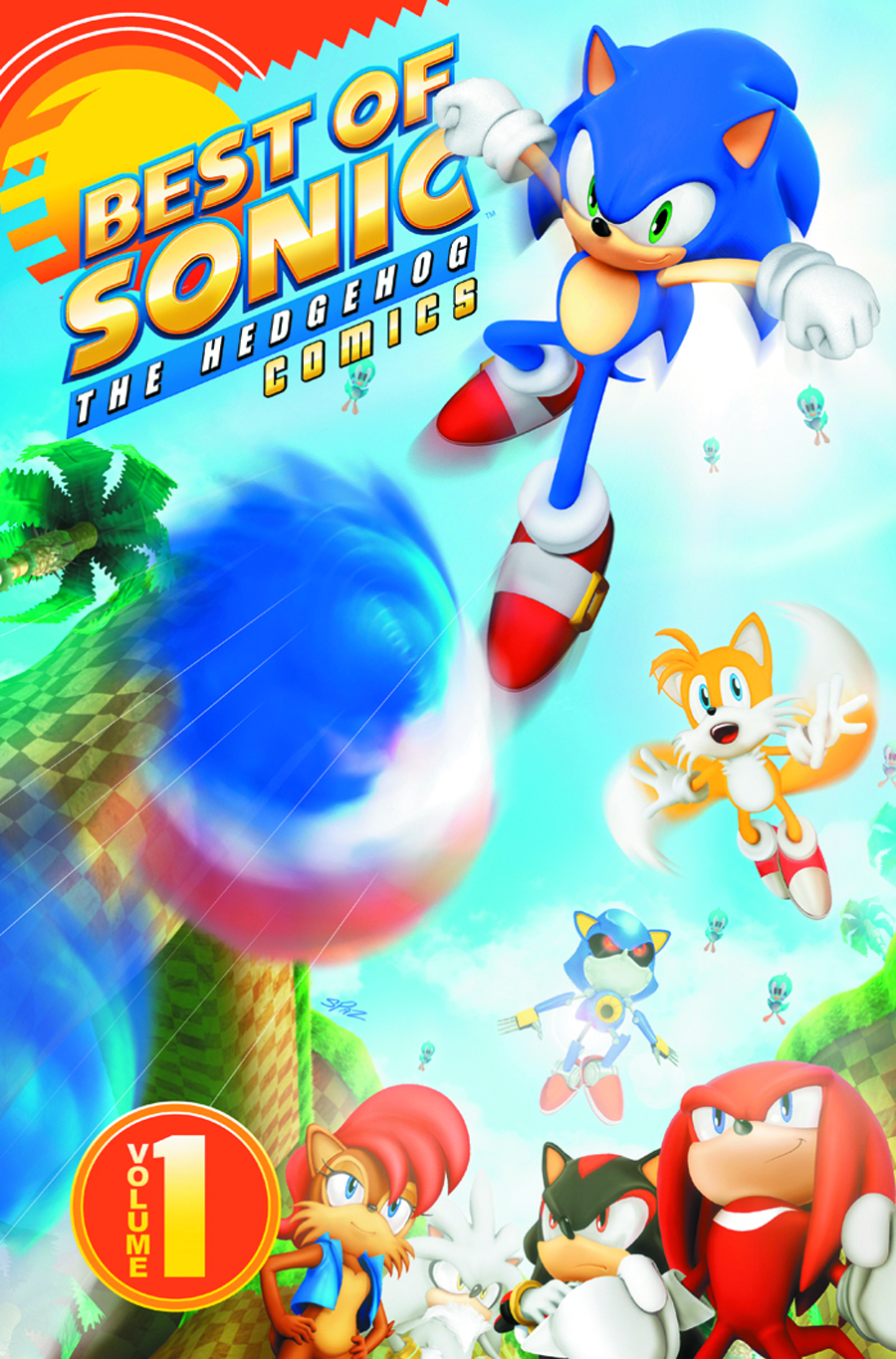BEST OF SONIC THE HEDGEHOG TP VOL 01