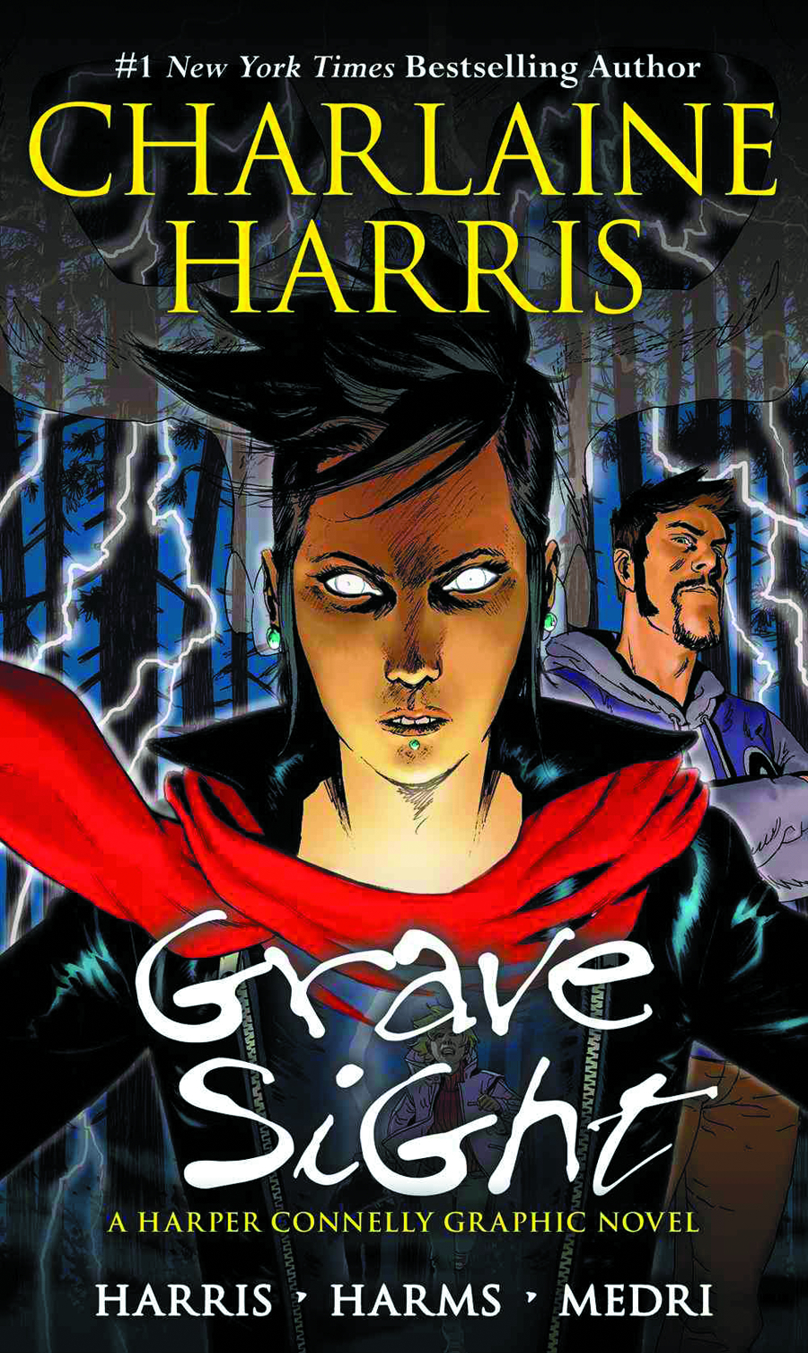 CHARLAINE HARRIS HARPER CONNELLY GN VOL 01 GRAVE SIGHT