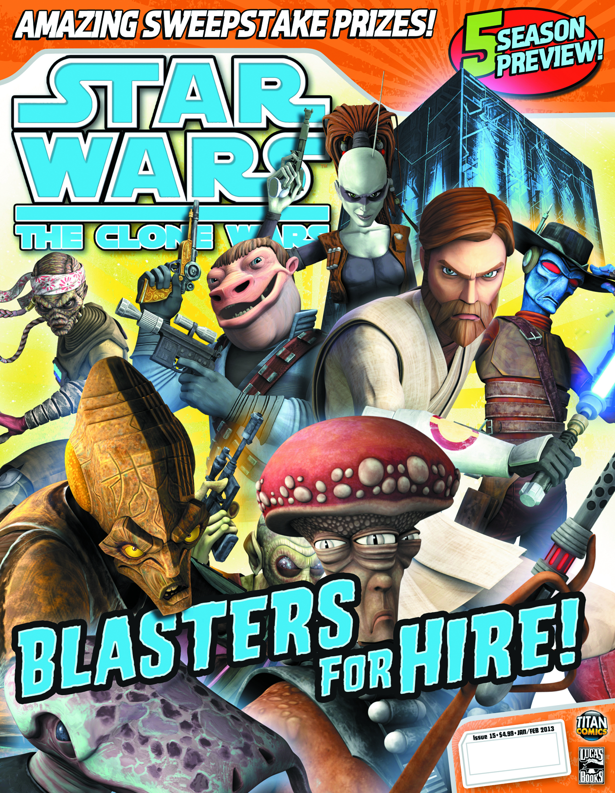STAR WARS CLONE WARS MAGAZINE #15
