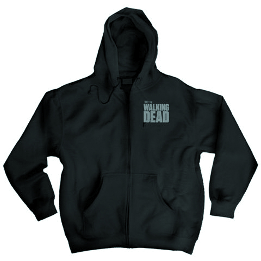 WALKING DEAD MICHONNE PX ZIP HOODIE XL