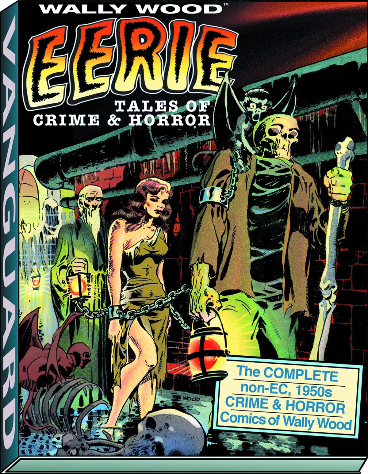 WALLY WOOD EERIE TALES OF CRIME & HORROR DLX SLIPCASED