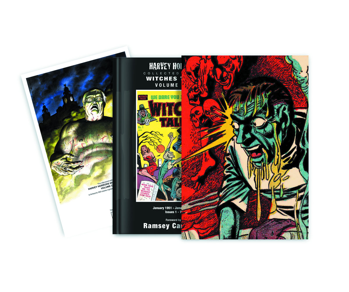 HARVEY HORRORS WITCHES TALES SLIPCASE ED VOL 01