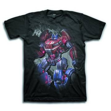 TRANSFORMERS FOC THE LAST PRIME PX BLK T/S MED