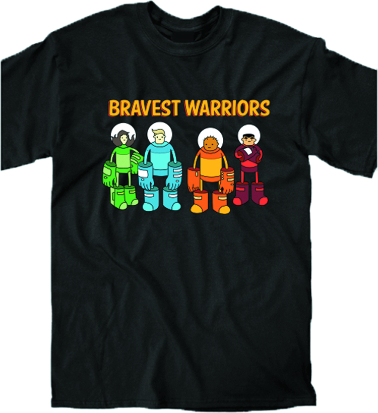 BRAVEST WARRIORS ROLL CALL PX T/S XXL