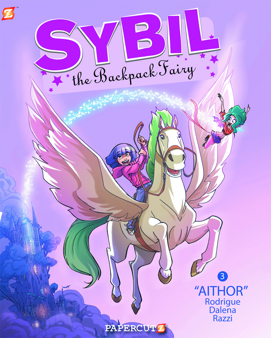 SYBIL THE BACKPACK FAIRY HC VOL 03 AITHOR