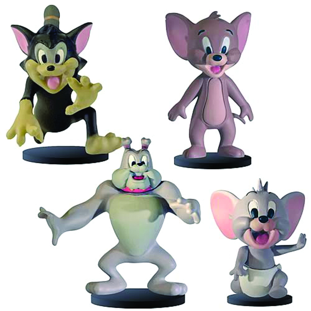 HANNA BARBERA TOM & JERRY 2-IN FIG COLL PK