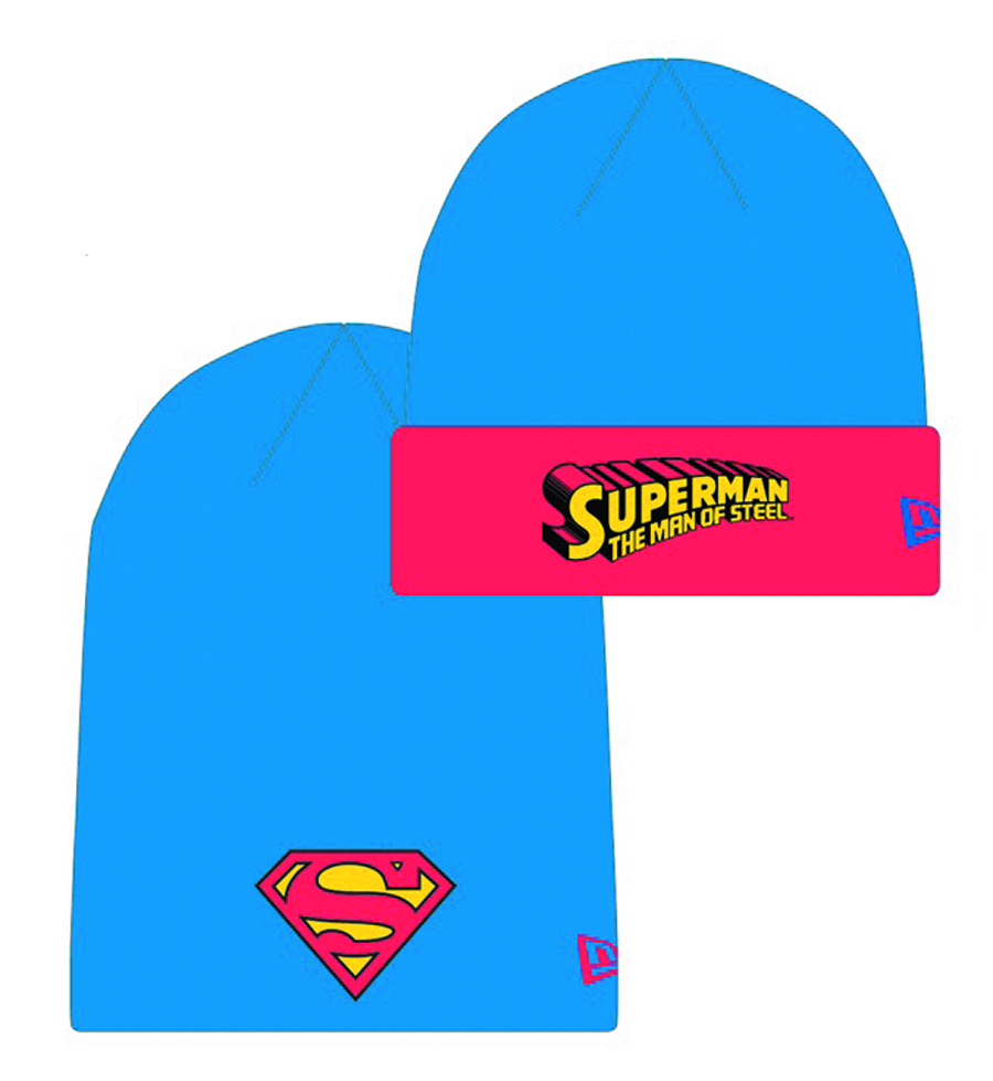SUPERMAN HERO FLIP KNIT CAP