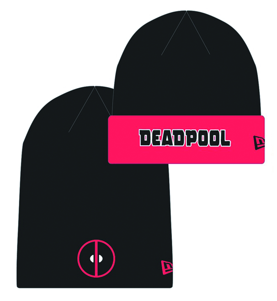 DEADPOOL HERO FLIP KNIT CAP