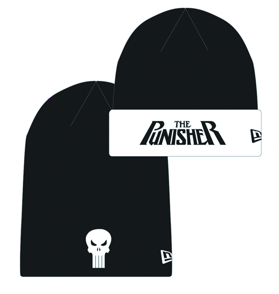 PUNISHER HERO FLIP KNIT CAP