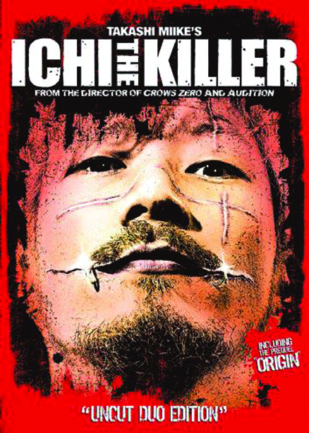 ICHI THE KILLER UNCUT DUO ED DVD