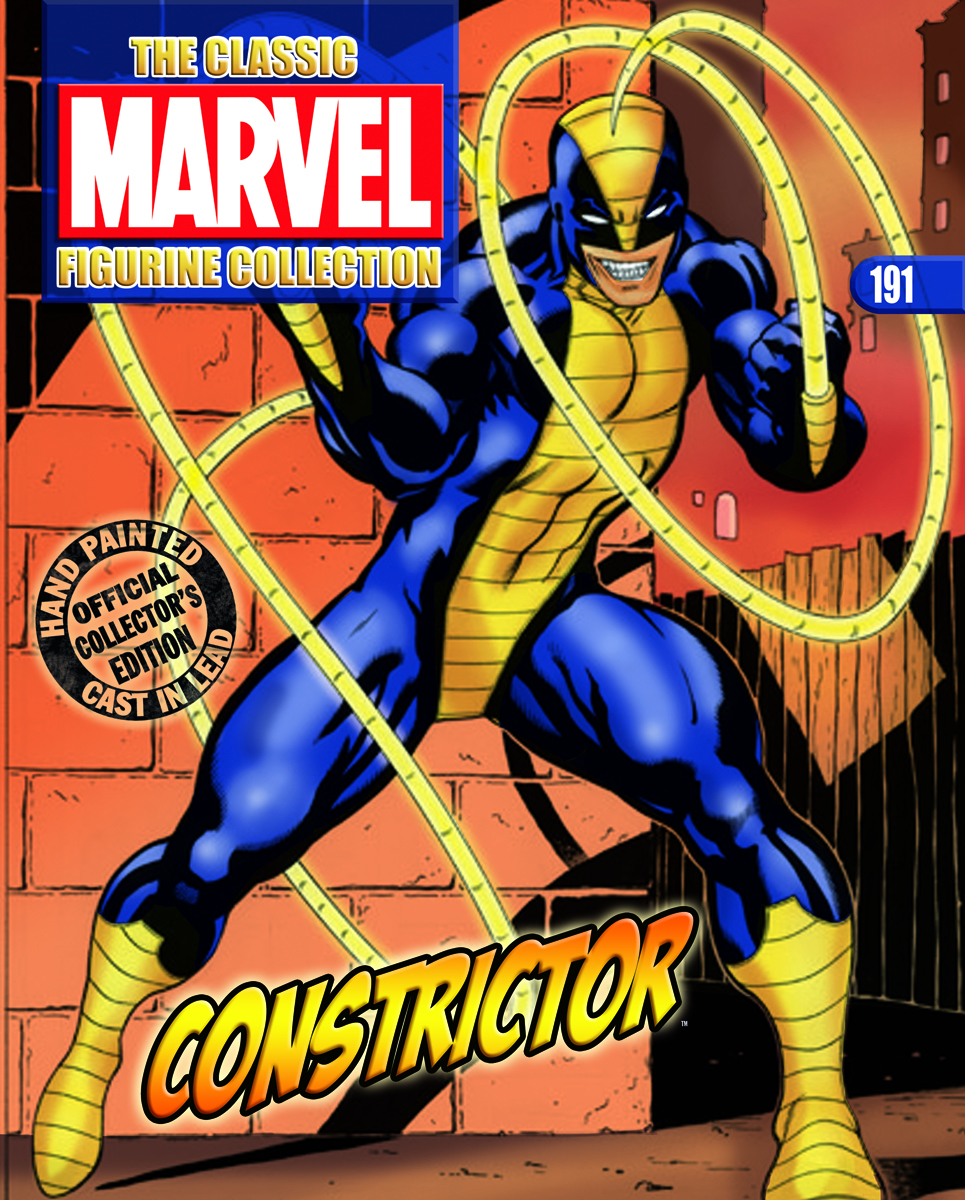 CLASSIC MARVEL FIG COLL MAG #191 CONSTRICTOR