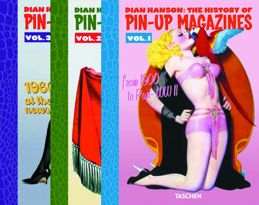 DIAN HANSONS HISTORY OF PIN UP MAGAZINES SLIPCASED ED (MR)