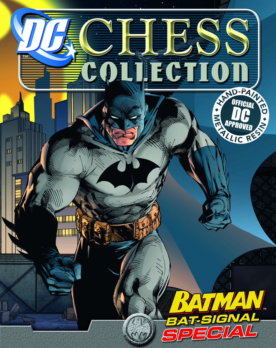 DC CHESS FIG COLL MAG SPECIAL #2 BAT SIGNAL