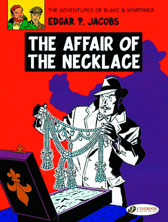 BLAKE & MORTIMER GN VOL 07 AFFAIR OF THE NECKLACE