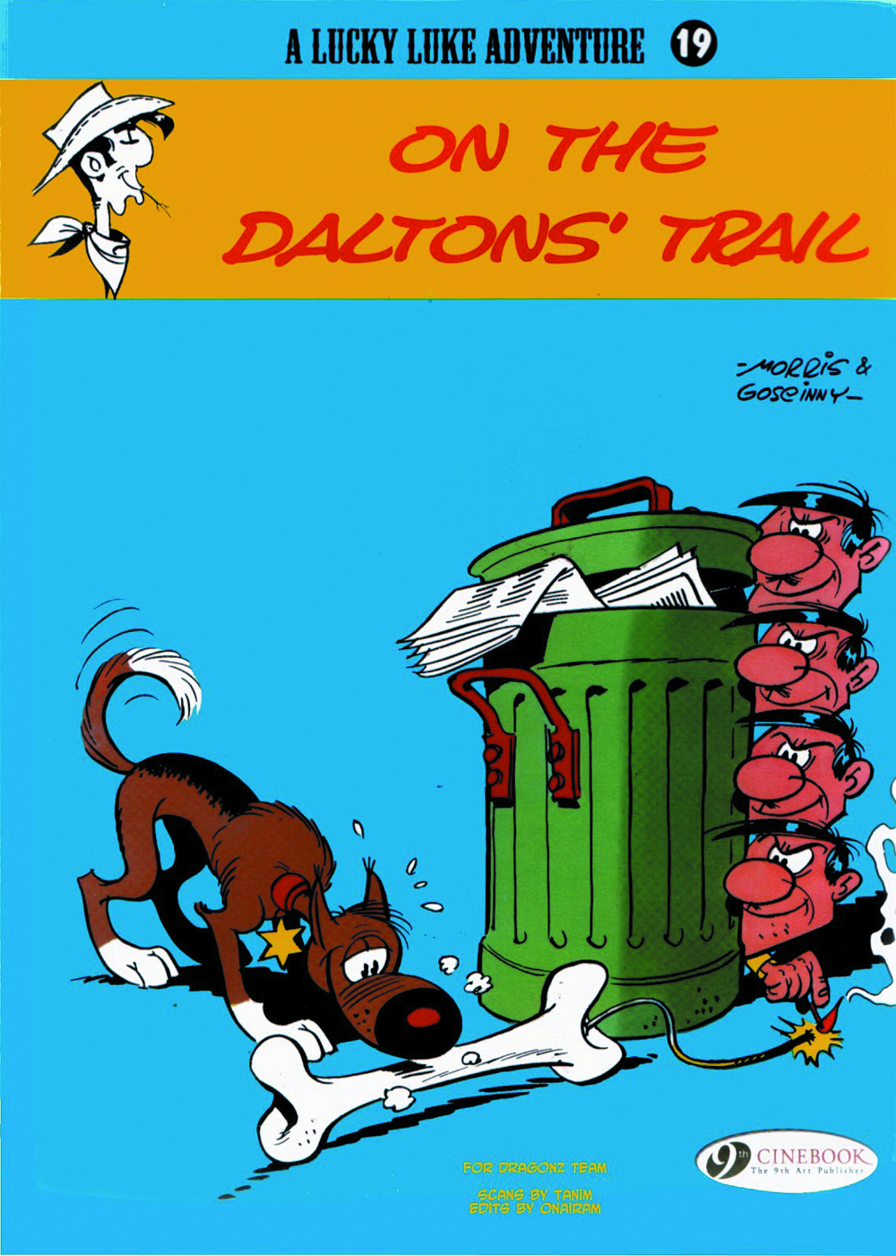 LUCKY LUKE TP VOL 19 ON THE DALTONS TRAIL