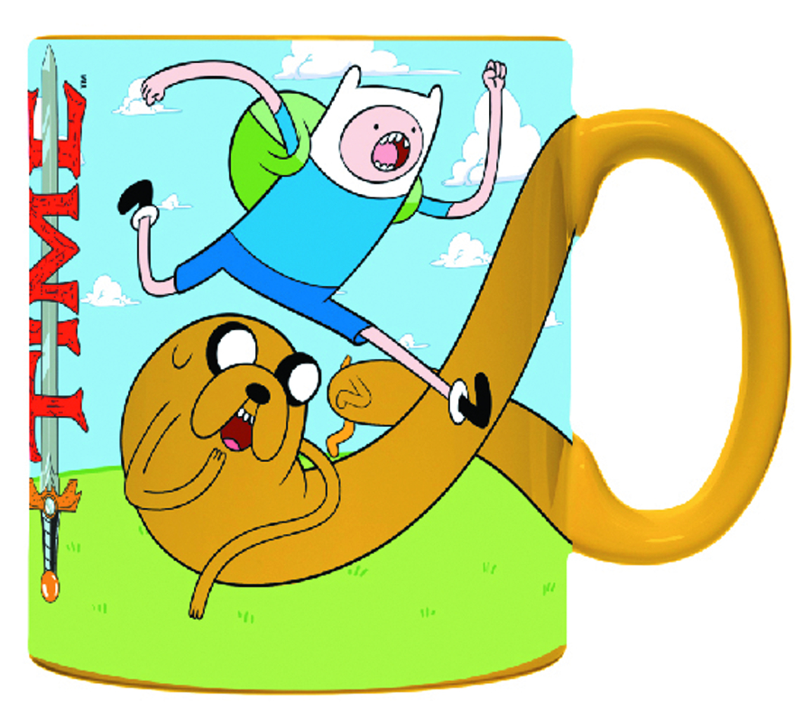 ADVENTURE TIME JAKE HANDLE MUG
