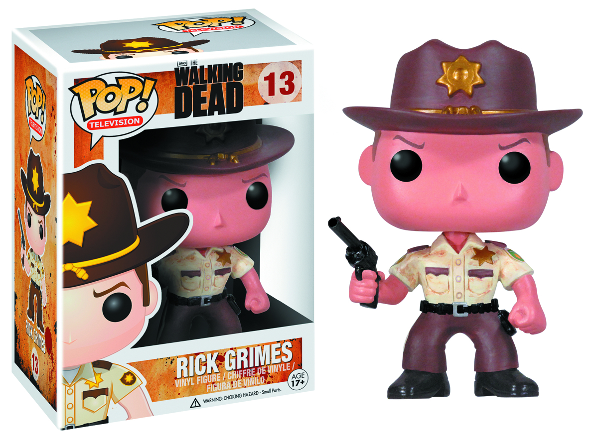 POP WALKING DEAD RICK GRIMES VINYL FIG