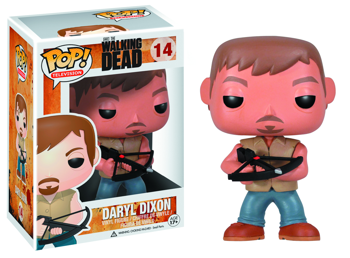 POP WALKING DEAD DARYL DIXON VINYL FIG
