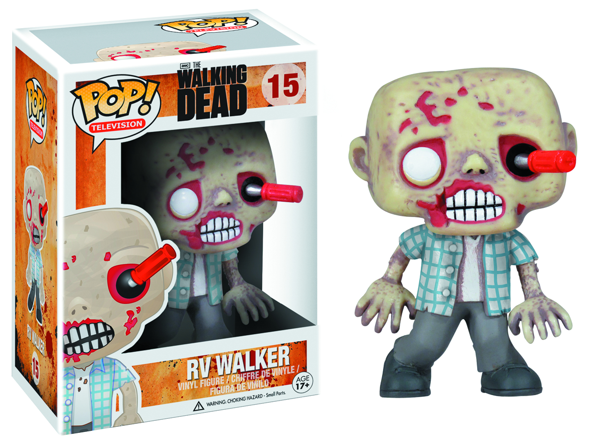POP WALKING DEAD RV ZOMBIE VINYL FIG