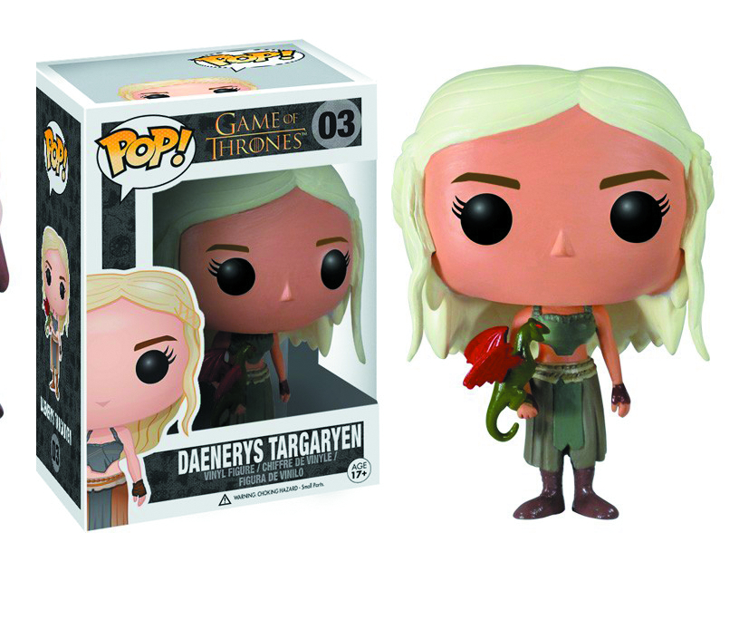 POP GAME OF THRONES DAENERYS VINYL FIG