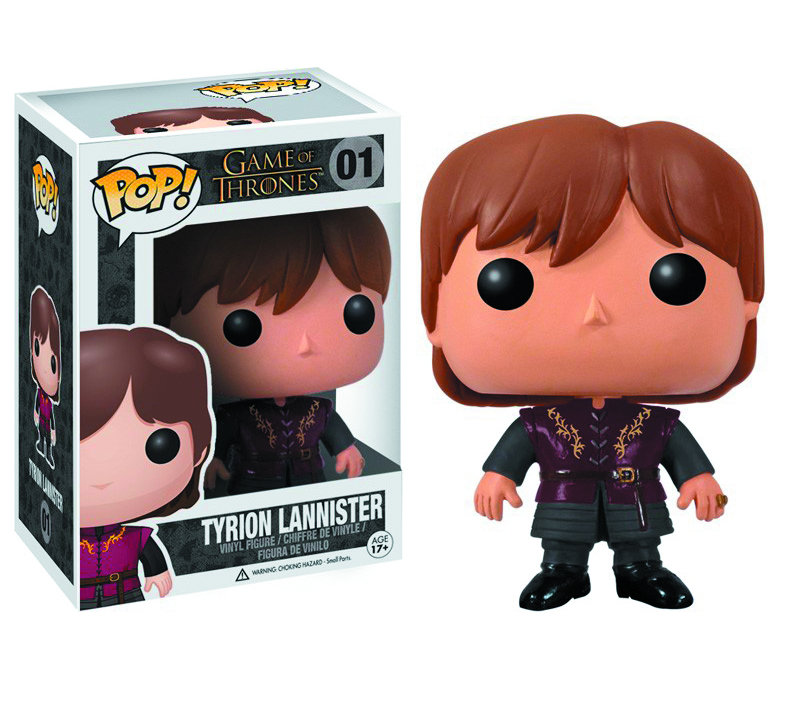 POP GAME OF THRONES TYRION VINYL FIG