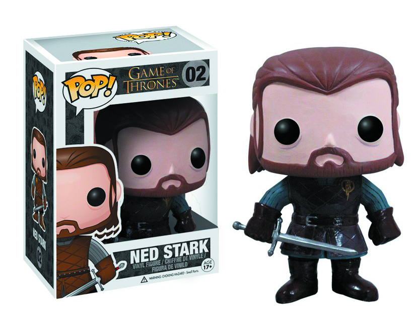 POP GAME OF THRONES NED STARK VINYL FIG