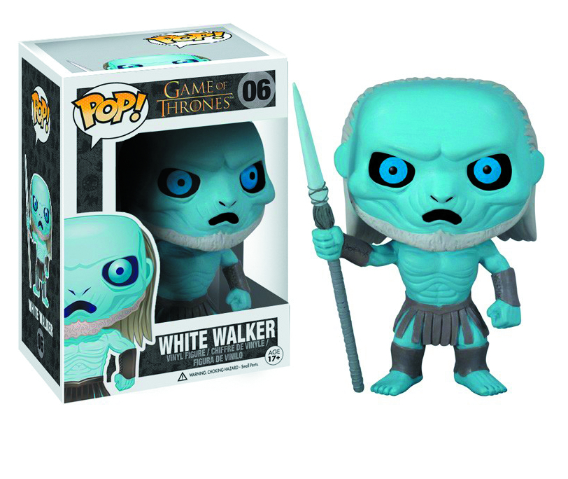 POP GAME OF THRONES WHITE WALKER VINYL FIG
