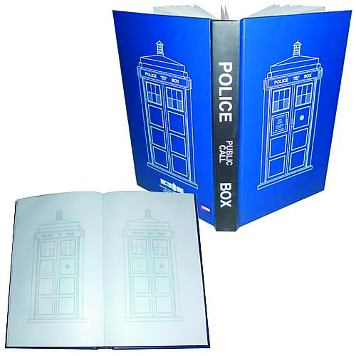 DOCTOR WHO TARDIS POLICE CALL BOX JOURNAL