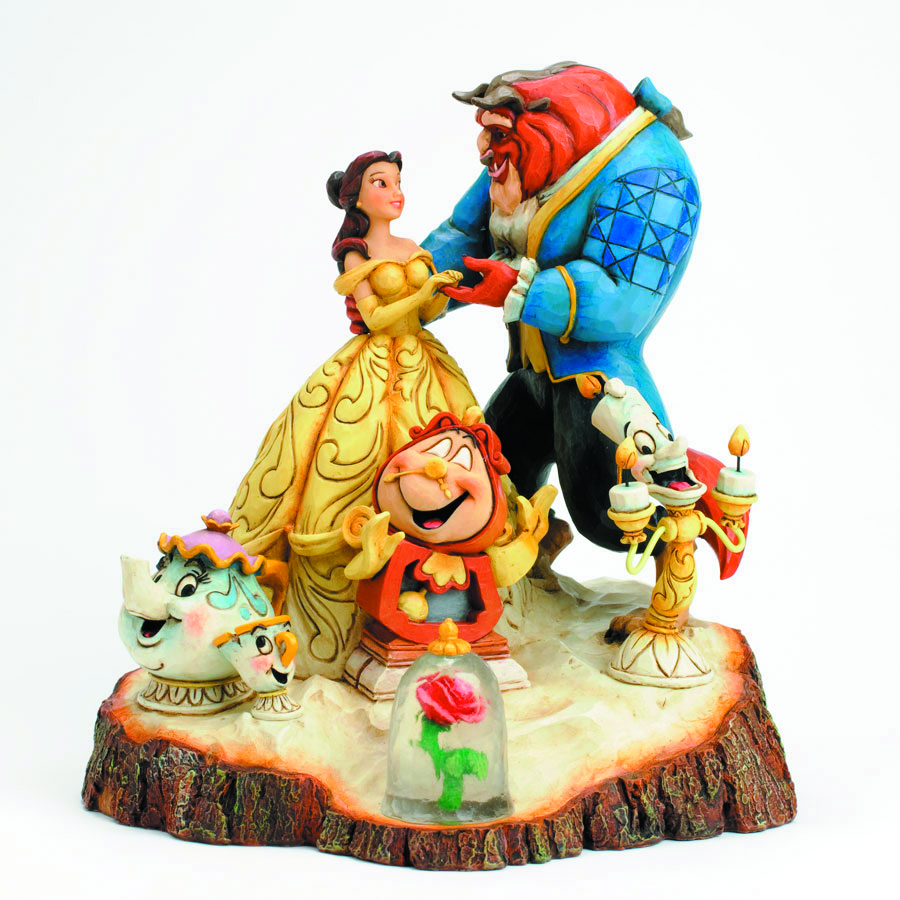DISNEY TRADITIONS BEAUTY & THE BEAST