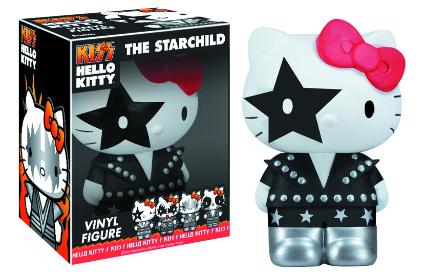 HELLO KITTY KISS STARCHILD VINYL FIGURE