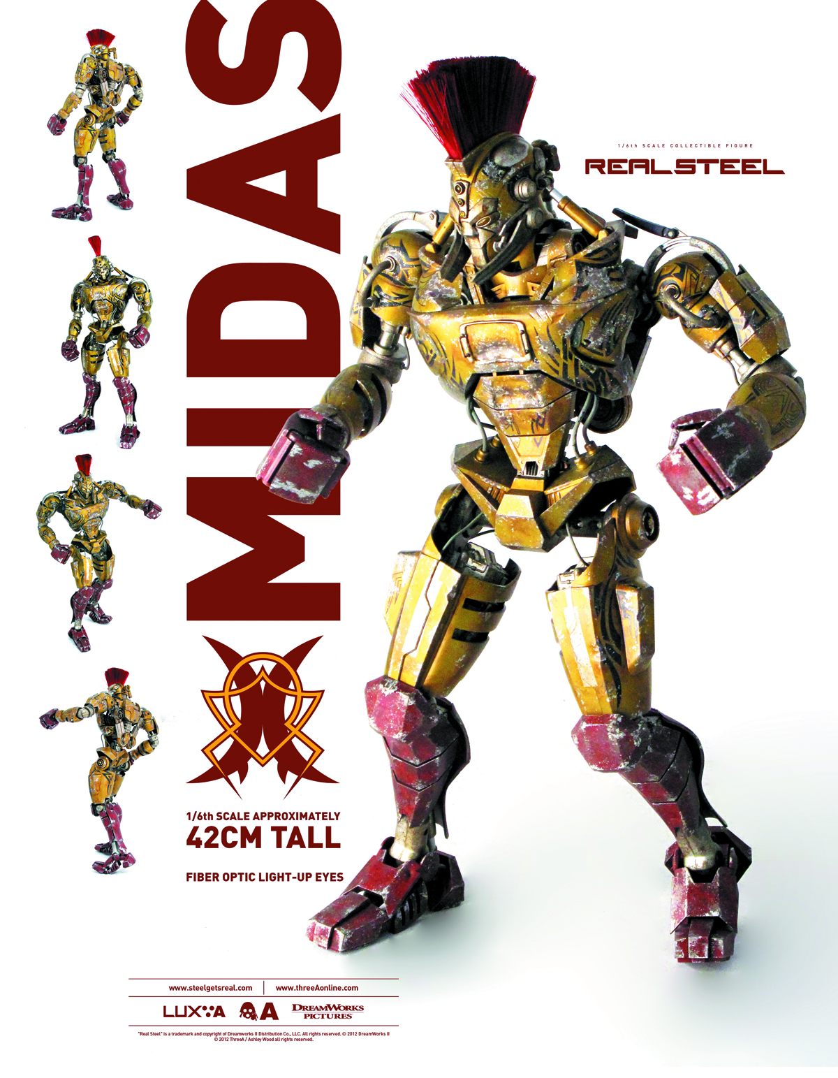 REAL STEEL MIDAS 1/6 SCALE FIG