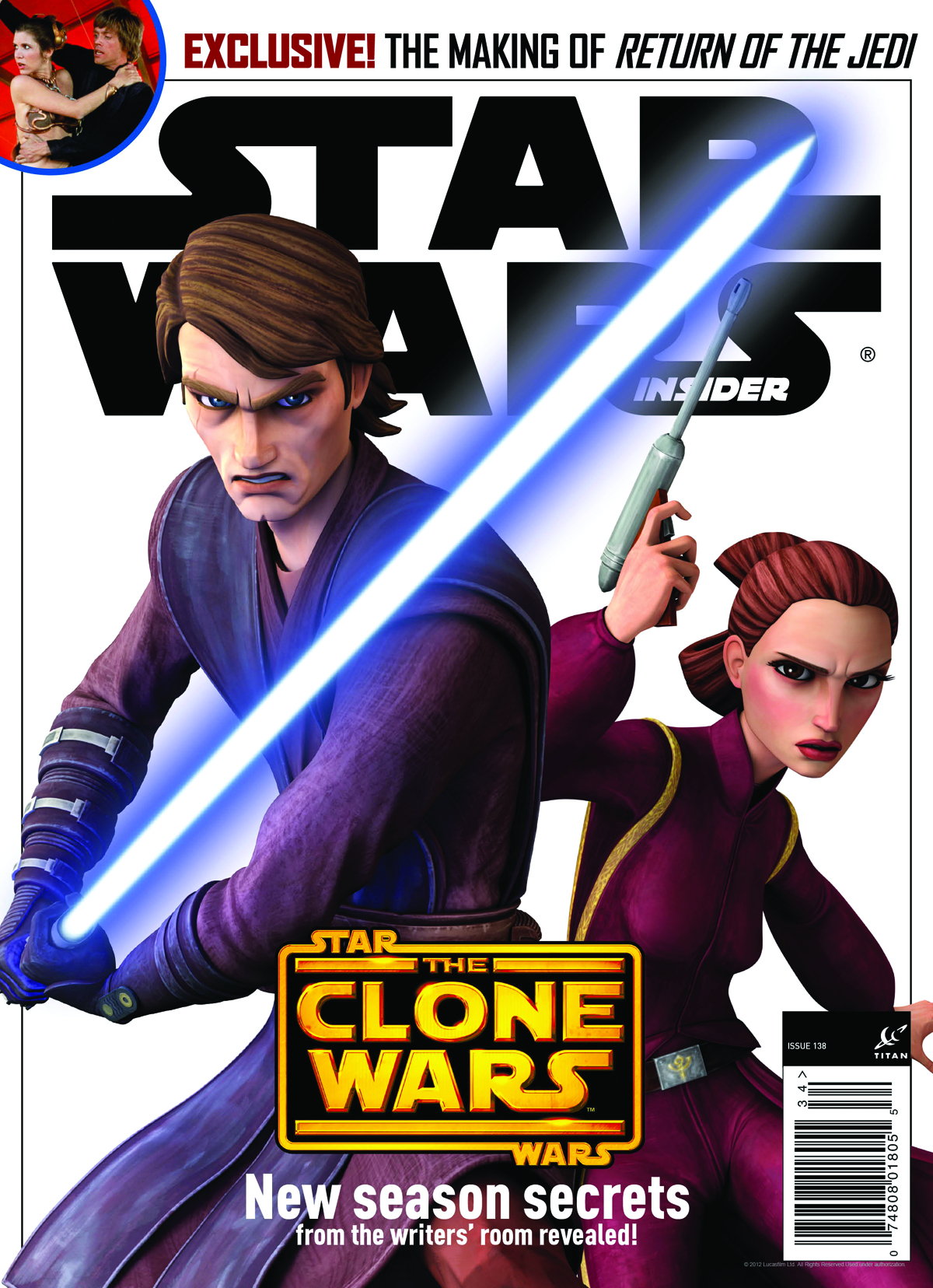 STAR WARS INSIDER #138 NEWSSTAND ED