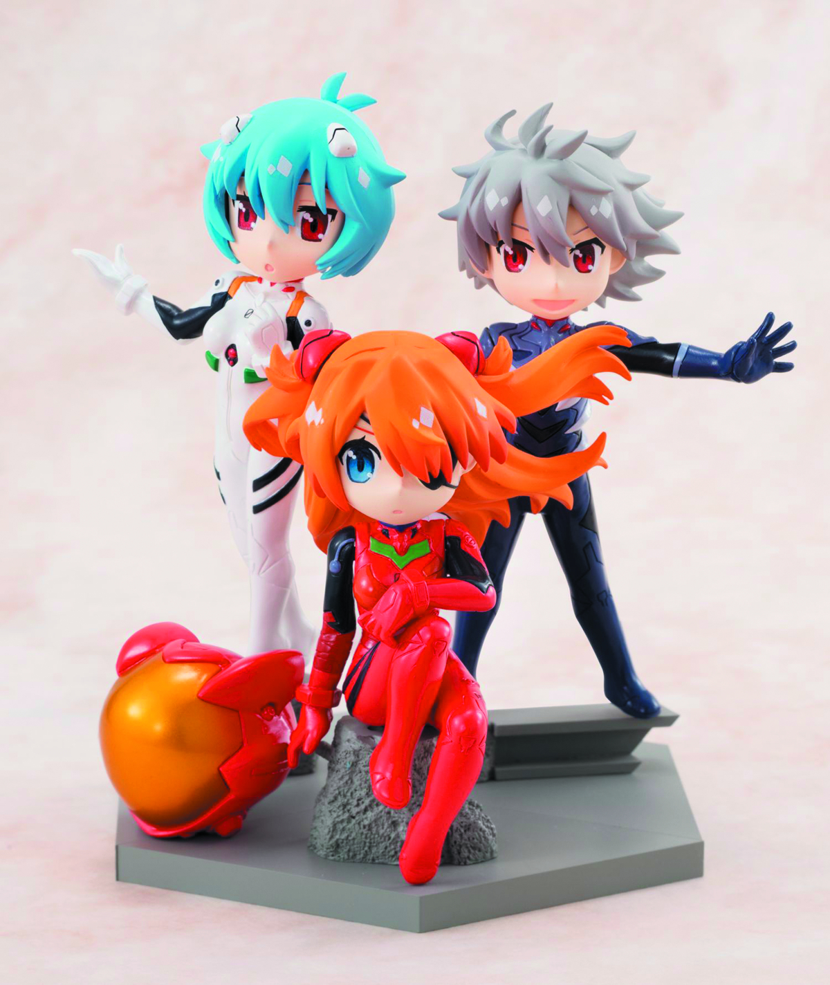 EVANGELION PETIT EVA NEW MOVIE VER C-STYLE 9PC DS
