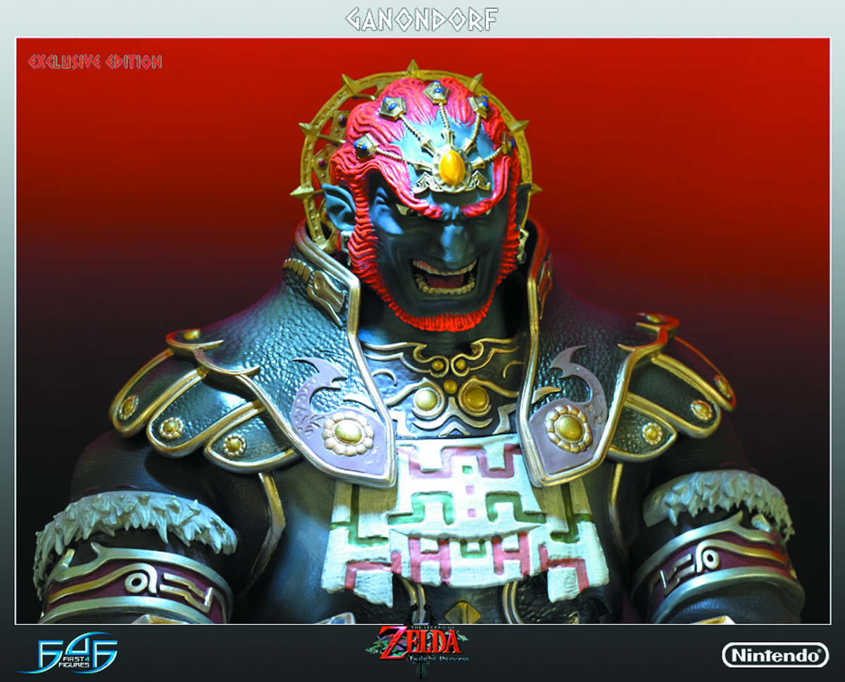 LOZ TWILIGHT PRINCESS GANONDORF STATUE