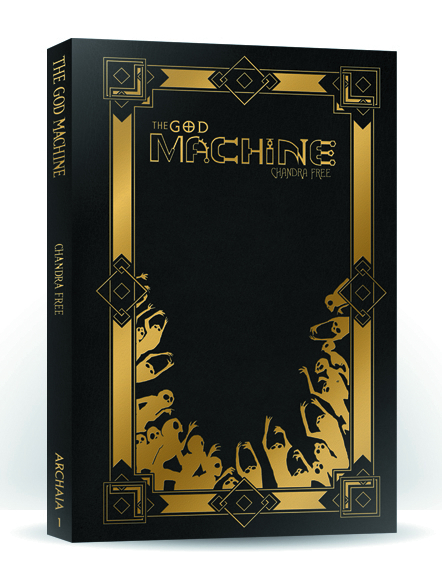 (USE DEC138253) GOD MACHINE LEATHER BOUND ED HC